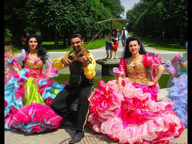 Смотреть видео CYGAŃSKI TABOR NA DANCINGU TAŃCZĄ GOŚCIE wykonanie PANEK