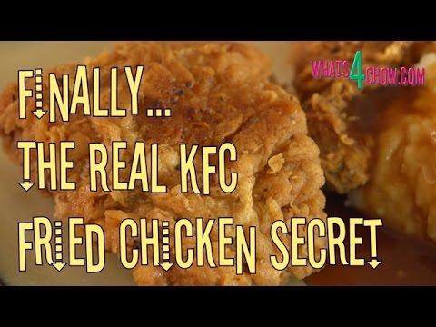 KFC Fried Chicken Secret Recipe - Original Recipe / Secret Ingredients / How to Make KFC