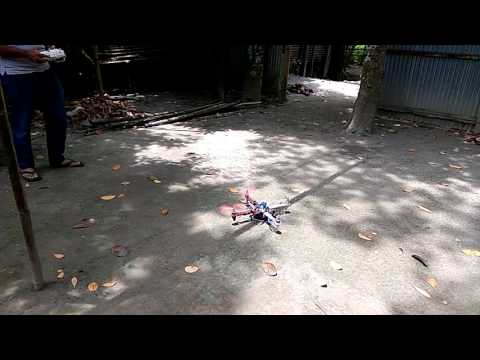 Quad Copter test flight in Bangladesh