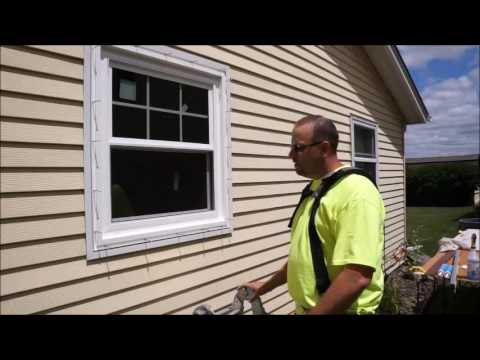 brick mold on exterior door heartland windows two part brickmold installation with john