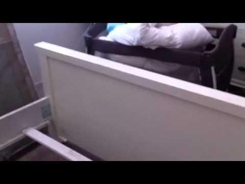 Broken bed frame from jeromes