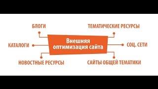 видео Внешняя и внутренняя SEO-оптимизация сайта