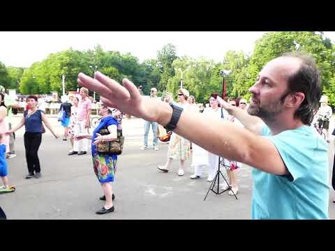 Сокольники  необычный танцор 15 июля 2018