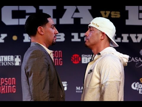 (DBN LIVE) D.GARCIA-RIOS FACE OFF I WILL FIGHT ERROL SPENCE IF NO THURMAN FIGHT