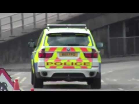Devon & Cornwall Police - BMW X5 ARV On Patrol in Newport, South Wales