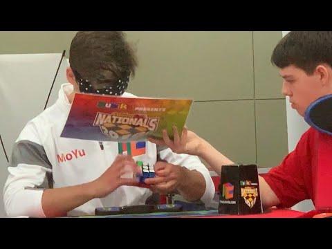Rubik's Cube Blindfolded World Record - 15.50 Seconds