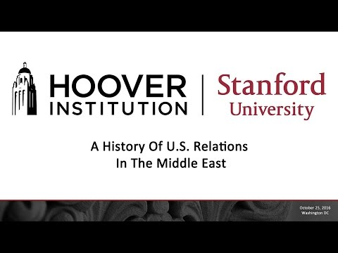 A History Of U S  Relations In The Middle East