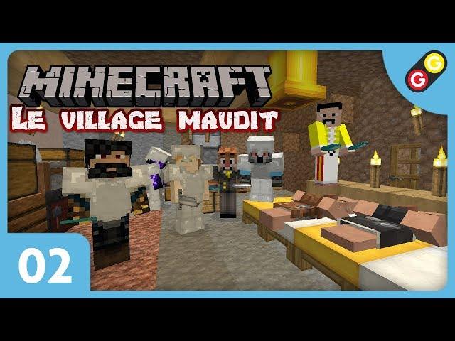 Minecraft - Le village maudit #02 On devient riches ! [FR]