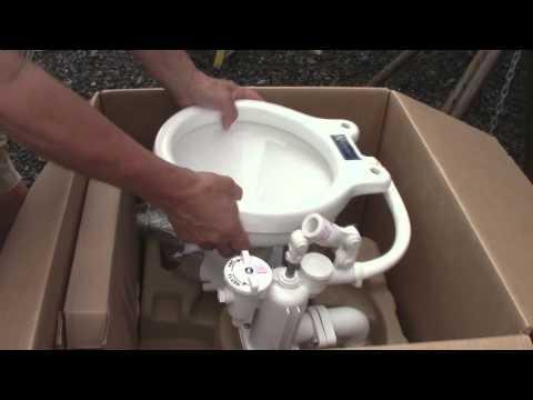 Raritan marine toilet