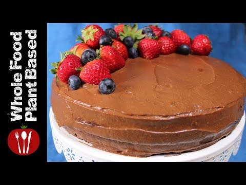Vegan Chocolate Cake/gluten Free, Refined Sugar Free: Whole Food Plant Based Recipes
