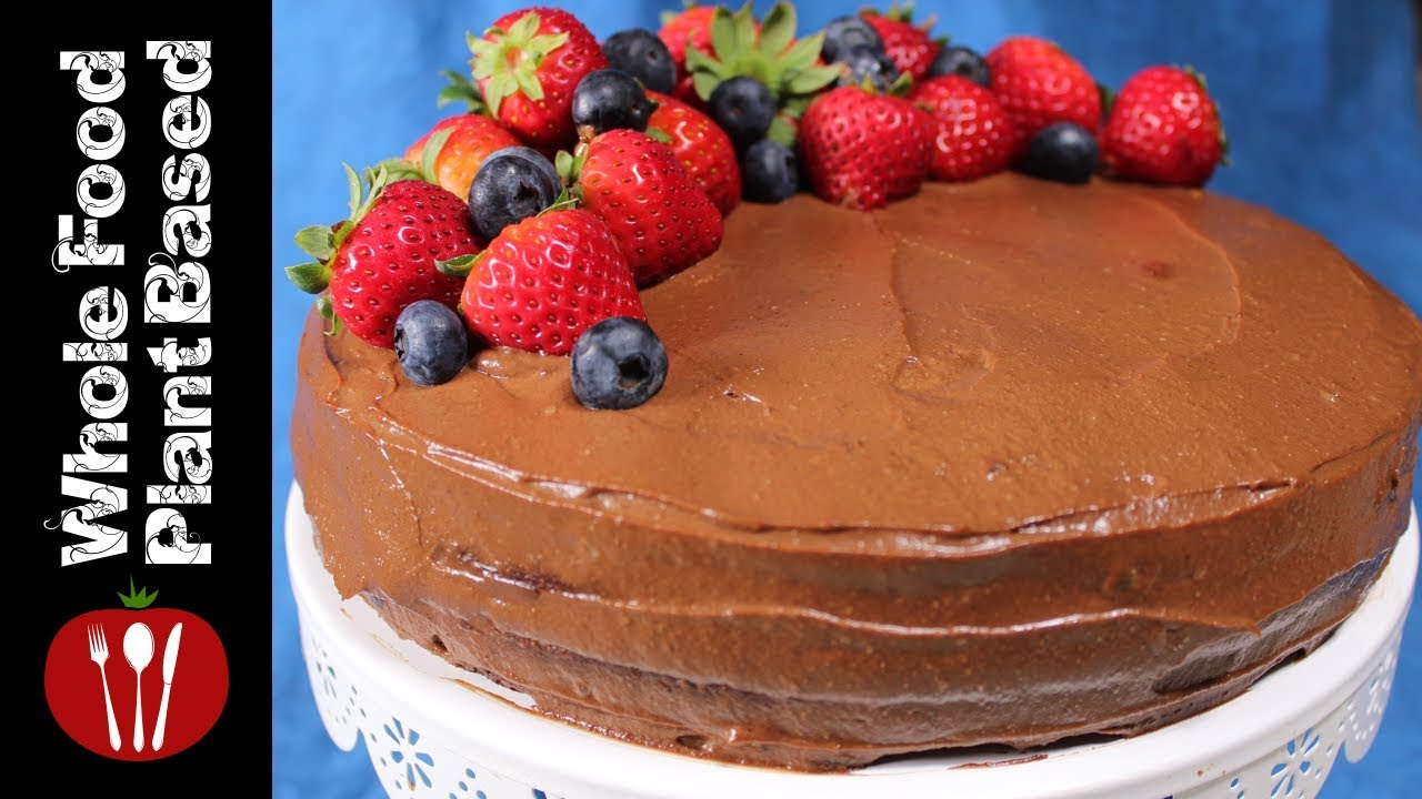 Vegan Chocolate Cake Gluten Free Refined Sugar Free