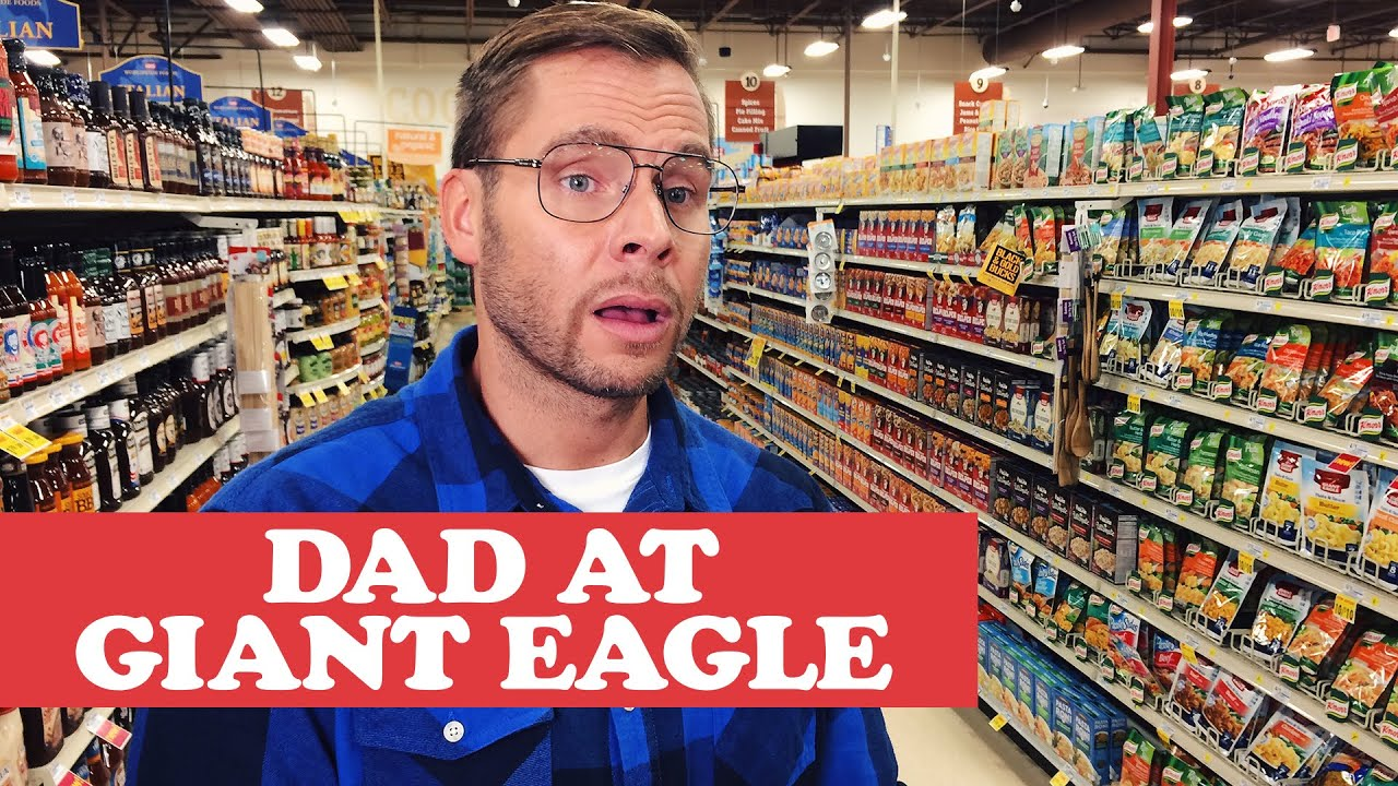 PITTSBURGH DAD AT GIANT EAGLE