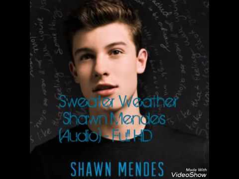 Shawn Mendes Sweater Weather - (Audio) Full HD