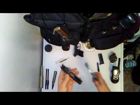 Pocket pistol cleaning.  380 Ruger LCP .  Call of duty guns