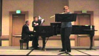 Martinu First Sonata for Flute, III. Allegro poco moderato performed by Kristen Stoner and Tim Carey