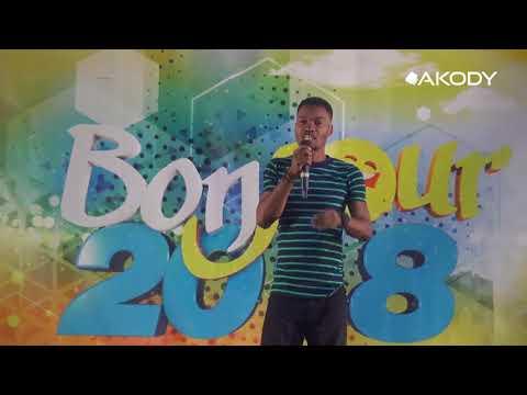 Bonjour 2018 à bouaké Esprit assure le show