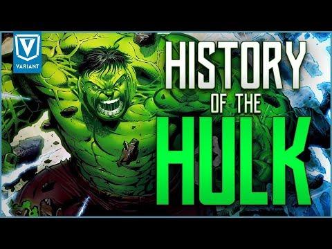 History Of The Hulk!