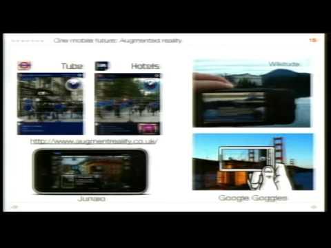 Mobile, mobile, mobile! - Paul Golding's keynote at Eduserv Symposium 2010: The Mobile University
