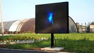 видео светодиодный экран для улицы