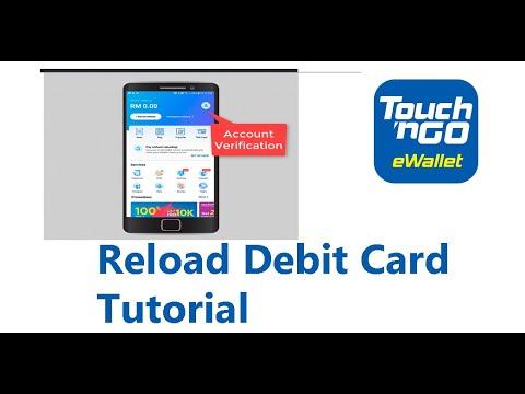 Cara Reload Ewallet Touch N Go Dengan Debit Card Youtube