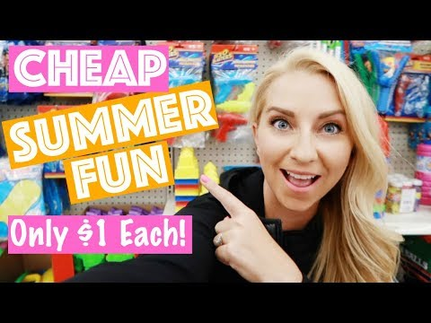 17 Cheap Summer Fun Finds At The Dollar Tree!