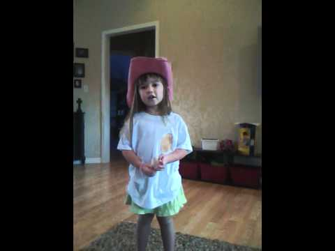 5 year old singing Something Like That (BBQ Stain) by Tim McGraw