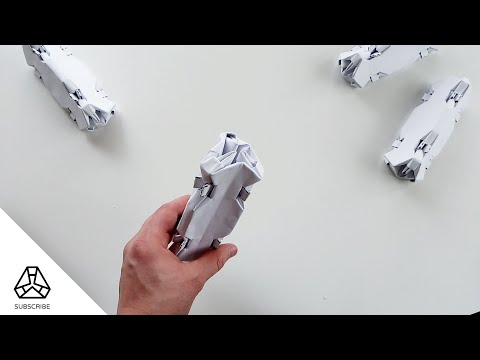 how-to-make-bone-2-a---build-with-100%-standart-din-a4-paper-sheets---origami-/-kirigami---diy