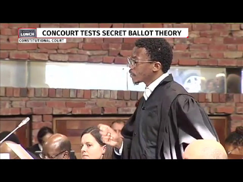ConCourt hears secret ballot case   Ngcukaitobi for EFF