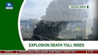 Death Toll In Lagos Tanker Explosion Rises To 12  News Across Nigeria 