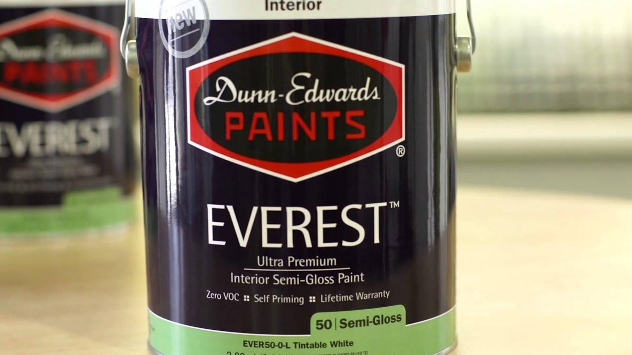 Lovely New EVEREST Ultra Premium Interior Paint. Dunn Edwards Paints