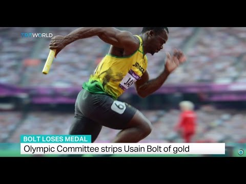 Bolt Loses Medal: Olympic Committee strips Usain Bolt of gold
