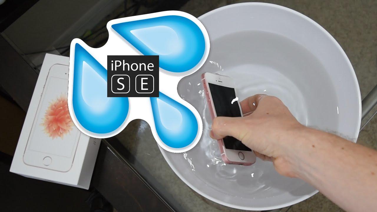 buy popular 7d16b 38103 iPhone SE : Secretly Waterproof ?!