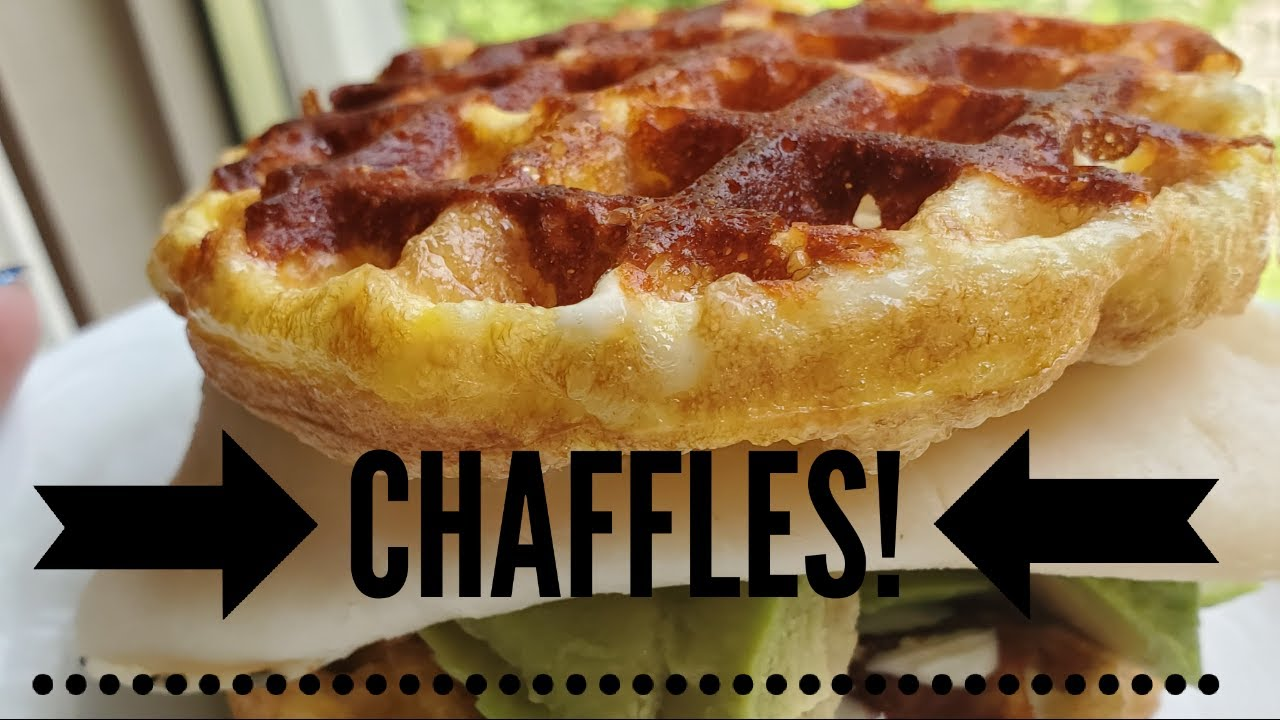 CHAFFLES- THE KETO BREAD HACK THAT WILL ROCK YOUR WORLD