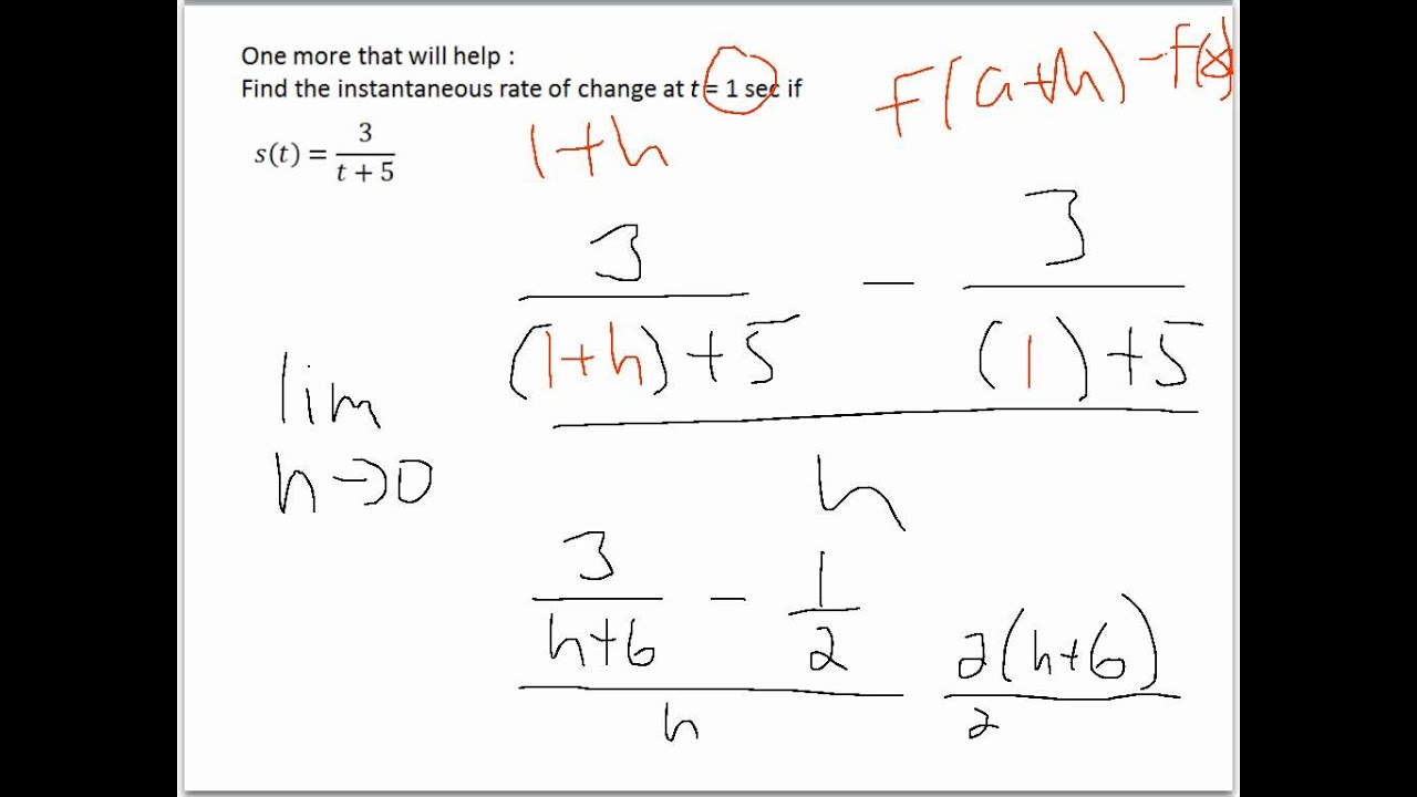 rate of change formula formula for rate of change formulas