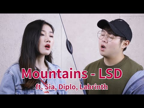 #LSD#SIA#Mountains LSD - Mountains ft. Sia, Diplo, Labrinth. Cover (커버) by Highcloud.