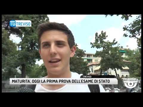 TG TREVISO (19/06/2019) - MATURITA', OGGI LA PRIMA...