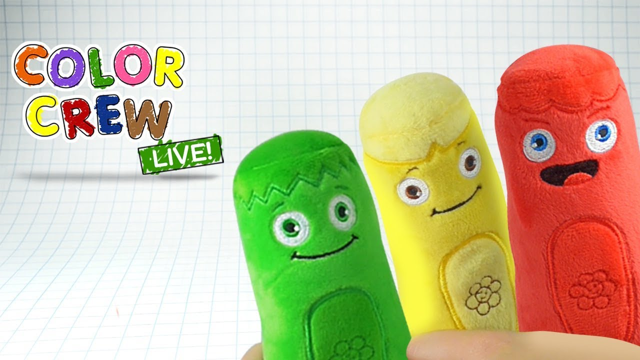 Learn Colors With Color Crew Soft Toys For Kids Color