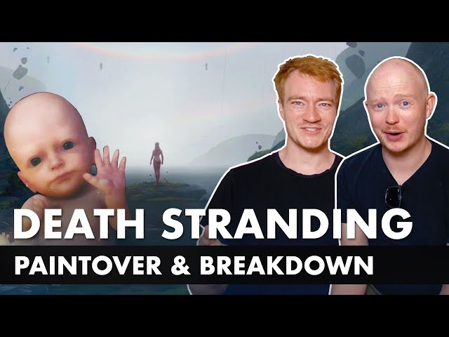Death Stranding Inspired Concept Art - Paintover & Breakdown
