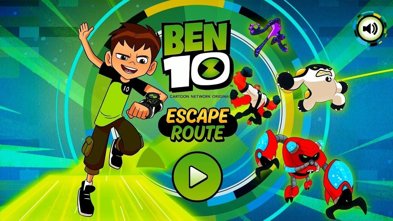 Cartoon Network Games - Ben 10 Games : Escape Route - Dora ...