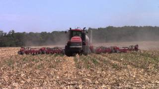 Case IH 600 Quadtrac and 500 Precision Air Drill