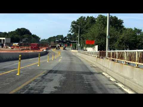Bayonne Bridge southbound [2014 Construction Update]
