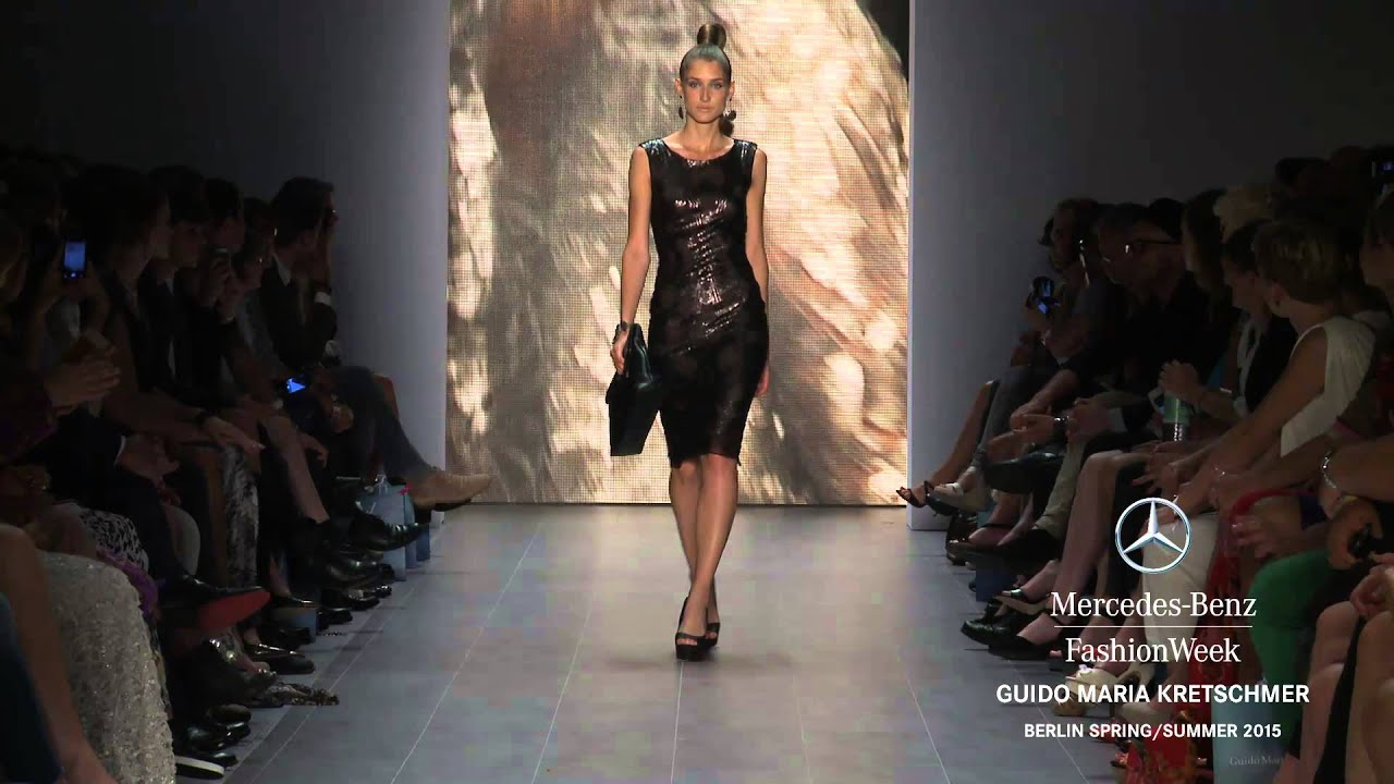 Guido Maria Kretschmer Mercedes Benz Fashion Week Berlin Ss15 Youtube