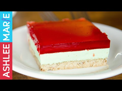 Christmas Layered Dinner Jello Recipe