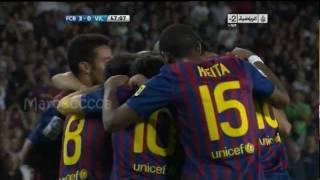Video FC Barcelona vs FC Villarreal 5-0 All Goals Highlights (28.08.11) download MP3, 3GP, MP4, WEBM, AVI, FLV Juni 2018