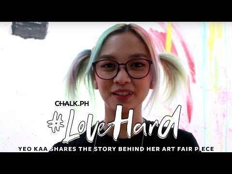 "#LoveHard: Yeo Kaa Shares The Story Behind Her Art Fair Piece ""Sorry, Sorry, Sorry"""