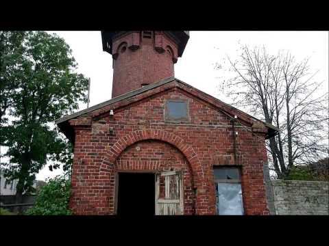 Латвия. Водонапорная башня. (Индустриальный туризм )