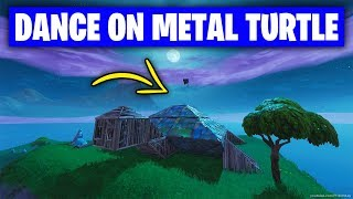 Fortnite 'Dance on top of a Metal Turtle' LOCATION & GUIDE (Season 7 Week 1 Challenges Fortnite)