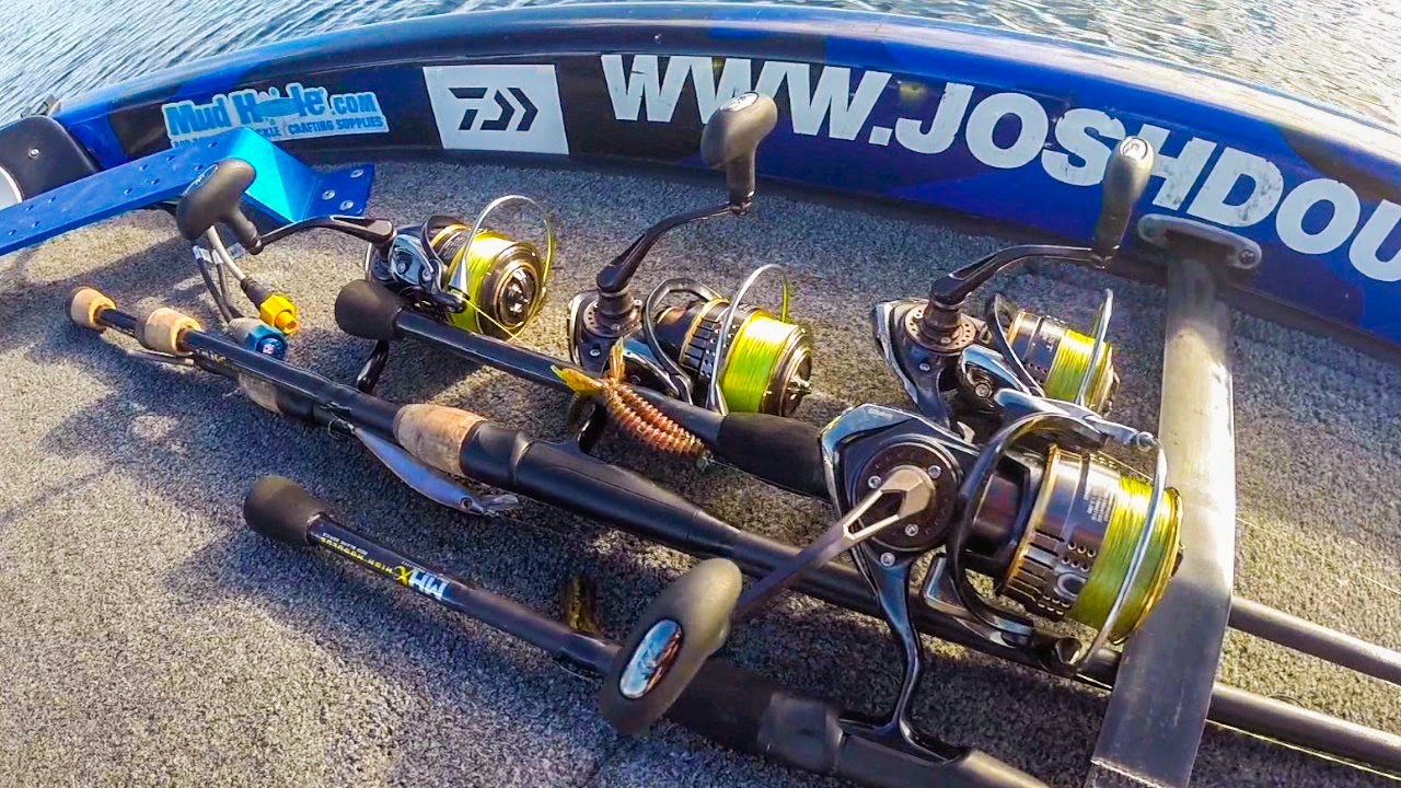 Spinning Reel Size Selection for Bass   YouTube