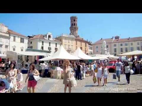 VERCELLI ( Italy ) - CITTA' D'ARTE, CAPITALE EUROPEA DEL RISO -City of art, European Capital of Rice