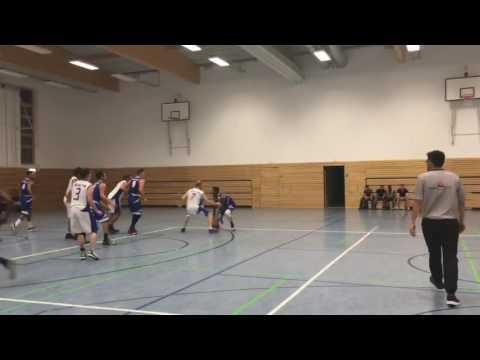 Christopher Miller Full highlights EOSC basketball Club Germany 090216